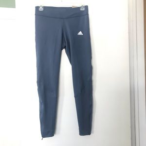 Adidas Own The Run tights blue small